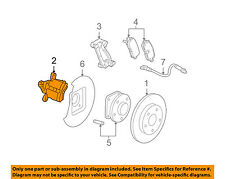 Pontiac GM OEM 2005 Grand Prix-Disc Brake Caliper Right 88965580
