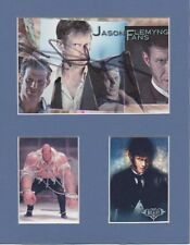 JASON FLEMYNG Signed 9.5x7.5 Photo Display LEAGUE OF EXTRAORDINARY GENTLEMEN COA