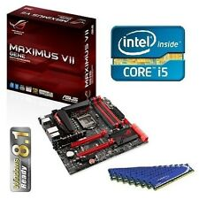 INTEL I5 4690 QUAD CORE CPU MAXIMUS VII GENE MOTHERBOARD 8GB DDR3 MEMORY COMBO