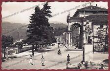 VARESE LUINO 23 DISTRIBUTORE POMPA BENZINA ESSO Cartolina FOTOGRAFICA viagg 1945
