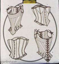 Butterick 4254 Vintage Historical Corset Pattern 18-22
