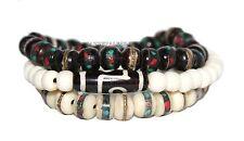 Tibetan prayer beads healing bracelet Adjustable wrist mala yoga bracelet E1