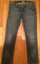 """GOLDSIGN """"Frontier"""" Cropped Capri Mid-Rise Skinny Jeans Women's Size 27"""