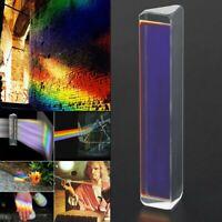 Licht Spektrum optisches Glasprisma Physik Dreiecksprisma Triangular Prisma K9