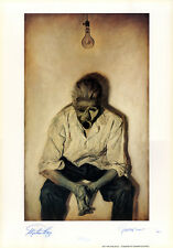 STEPHEN KING/PHIL HALE 'Insomnia' SIGNED Ltd EDITION PRINT
