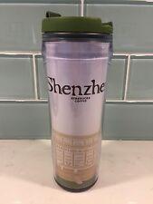 Starbucks 2004 Global Icon Shenzhen City Travel Plastic Mug 12oz