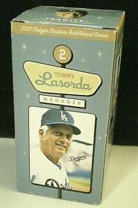 Tommy Lasorda BOBBLEHEAD Doll 2007 Los Angeles Dodgers Manager Hall of Fame RARE