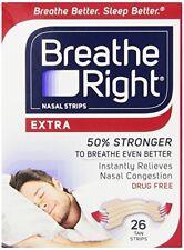 Breathe Right nasal tiras extra 26 each