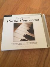 World Famous Piano Concertos - Four Disc Set (Mozart, Beethoven, Ravel, Chopin)