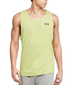Under Armour Men's Tech Tank Top 2.0 NWT 2020 Green Neon Large