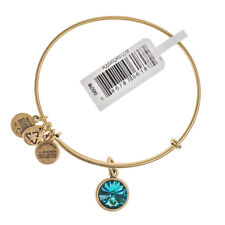 ALEX & ANI December Birthstone Gold Bangle A12EB251RG - RRP £24