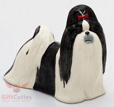 Porcelain Figurine of the Shih Tzu dog Chinese Lion