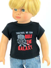 Together We can Rule the Galaxy Shirt Fits 18 inch American Girl Boy Doll Logan