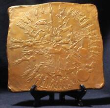 DENDERAH CELESTIAL ZODIAC100 BC Egyptian Temple Relief engraved stone