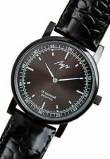 Mechanical Watch Luch Men's Belarus New Black 15 jewels Classic Style