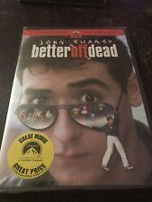 Better Off Dead [Dvd], Widescreen Brand New Sealed john Cusack