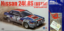 Nissan 240rs'83 New Zealand rally + detalle up parts 1:24 model kit beemax