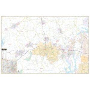 Gaston County, NC Wall Map
