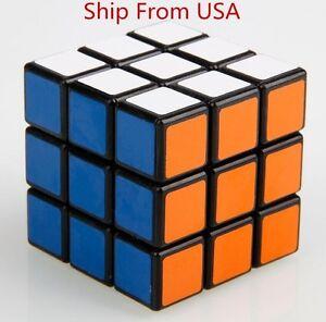 Shengshou 3x3x3 Magic Cube 3x3 Puzzle Ultra-smooth Spring Speed Black Xmas Gift