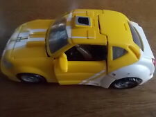 Vintage 1990s BUMBLE BEE Transformers Yellow Car Vehicle VGC