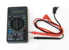 Practical Digital Multimeter Volt-Meter Ammeter AC DC OHM Tester Range Buzzer