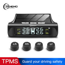 Universal Car Wireless TPMS Tire Tyre Pressure Monitor System Solar Power AU