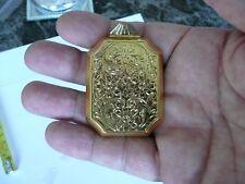 seconds . Vintage Antique Victorian reproduction extra large gold colour Locket