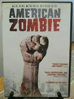 """American Zombie"" (DVD, 2008) Rare OOP *Mockumentary COMEDY Undead HORROR Parody"