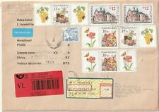 2006 Czech R. oversize priority cover sent from Praha to Enfield England