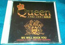 Queen 1982 - 2001 We Will Rock You - Gold CD Vgc+