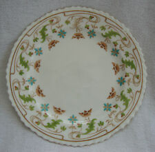ANTIQUE STUNNING CROWN STAFFORDSHIRE ART NOUVEAU HAND COLOURED SIDE PLATE  2759