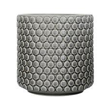 Blumentopf Pflanzentopf Blumenübrtopf grau Keramik Skandinavisch Bloomingville