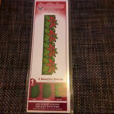 """Spellbinders grand 12"""" borderabilities Poinsettia Border"""