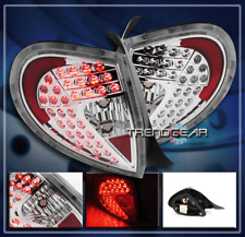 2000 2001 2002 DODGE PLYMOUTH NEON LED ALTEZZA TAIL LIGHTS REAR LAMPS CLEAR LENS