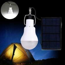Solar Panel Powered LED Bulb Lamp Home Outdoor Camping Emergency Light 150LM 5V