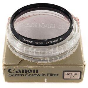 Canon 52mm Skylight 1x SKY Filter