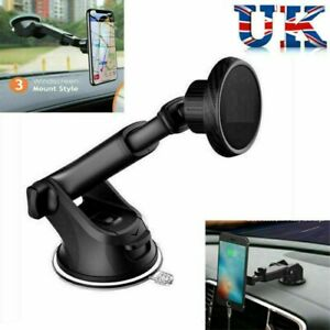 UK 360° Magnetic Car Phone Holder Mount Dashboard Windshield For any mobile/2