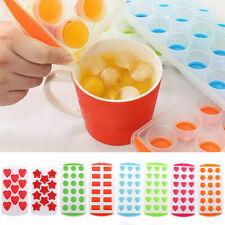 Bac à Glaçons Moule Souple Silicone Gel Pouding Gelée Chocolat Ice Cube Frigo