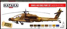 Hataka Hobby Paints Israeli Air Force Modern Helicopters Acrylic Paint Set
