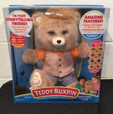 NEW Teddy Ruxpin 2017 Color LCD Eyes Official Read Animated Bluetooth Story NWT