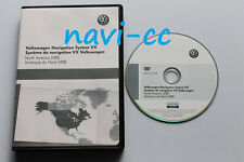 Volkswagen Navigation System VX North America v8B (VW RNS2 DVD, MFD2 DVD)