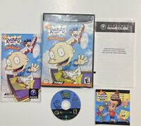 Rugrats: Royal Ransom (Nintendo GameCube, 2002) COMPLETE!!