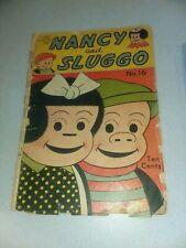 Nancy And Sluggo #1 united features 1949 golden age key ernie bushmiller art