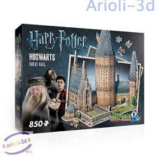 HARRY POTTER HOGWARTS POUDLARD - GREAT HALL - WREBBIT 3D - puzz - NEW SEALED