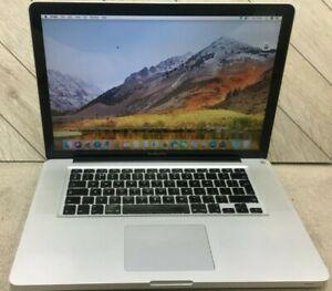 """Apple MacBook Pro A1286 15"""" (2011) Core i7 2.2 Ghz 4 GB 256 GB SSD Warranty"""