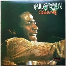 AL GREEN    Call Me    RARE 1973  UK LONDON PLUM label   SHU 8457   vinyl LP
