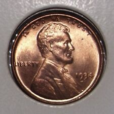 1934 Lincoln Cent Choice BU RB To RD
