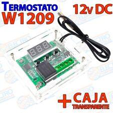 W1209 + CAJA Control de temperatura 12v DC termostato incubadora invernadero