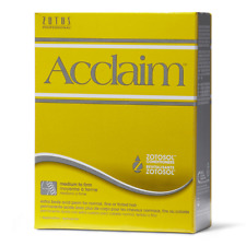 Acclaim Acid Extra Body Hair Perm Kit For Normal, Fine or Tinted Hair - YELLOW