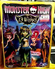 Monster High: 13 Wishes (Film) ~ DVD ~ English Subtitle ~ Animation